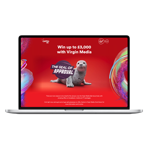 Virgin Media | Capital FM Partnership